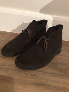 Genuine Clarks Original Desert Boots Brown Size 10
