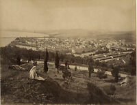 Dell'Osso Annaba Algeria Vista Generale, Albumina Vintage Ca 1880