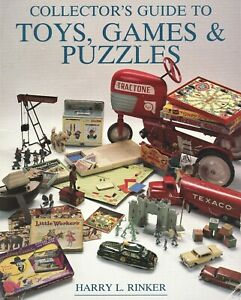 Collector's Guide Toys Games Puzzles - Evolution Development / Scholarly Book