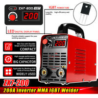 ZX7-200 Électrique Poste à Souder 220V IGBT Inverter ARC soudage Soudure Machine