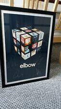 More details for elbow framed tour poster- number 61/150
