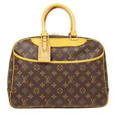 LOUIS VUITTON DEAUVILLE BOWLING BUSINESS HAND BAG VI0987 MONOGRAM M47270 90111
