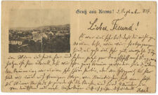Gruss aus Krems - Vorläufer 1887