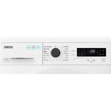 More details for zanussi zwf825b4pw washing machine with 1200 rpm - white - e rated
