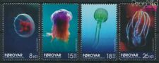 Danimarca - Isole Faroe 797-800 (completa edizione) MNH 2014 Quallen (9368508