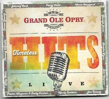 "GRAND OLE OPRY, CD ""TIMELESS HITS, LIVE"" NEW SEALED"