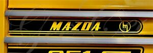 Mazda Rotary Rotor Decal Sticker For Toolbox  Window Boat Rx3 Rx2 R100 Rx7 13b