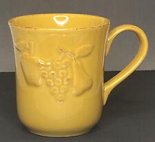 "Casa Stone By Casafina ""MADEIRA HARVEST"" Fine Portuguese Stoneware Mug Cup"