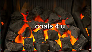 High Thermal Resistant Large Random Ceramic Coals 4 Gas Fire Coal Replacement