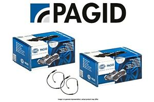 [FRONT + REAR SET] Hella-Pagid Premium Disc Brake Pads +Sensors X5M X6M PG101181