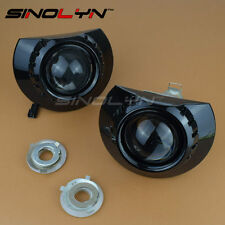 For ZKW E46 M3 Headlight Mini 2.5'' MH1 Black HID Bi-xenon Projector Lens DIY