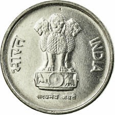 [#723269] Coin, INDIA-REPUBLIC, 10 Paise, 1992, AU(55-58), Stainless Steel