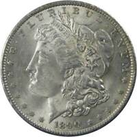1890 $1 Morgan Silver Dollar US Coin Choice About Uncirculated