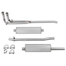 MG MGB 'Touring' Exhaust System Tourist Trophy stainless steel NEW 454-569