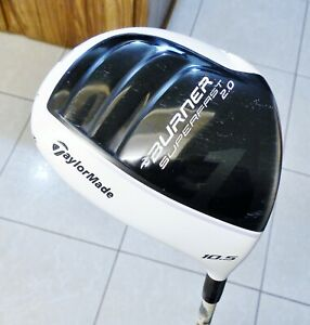 Ladies TaylorMade Superfast 2.0 Burner 10.5 Driver cool headcover REAX 4.8