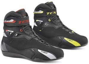 TCX Rush WP Motorradschuhe Schnürschuhe zu Jeans oder Lederkombi wasserdicht