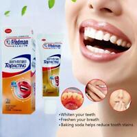 Backpulver Weiße Zahnpasta Zahnaufhellung Reinigung Hygiene Mundpflege Neu-
