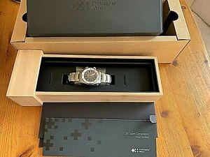 New Christopher Ward C65 Super Compressor Watch On Steel Bracelet RRP £1000
