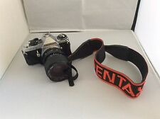 Pentax ME Super Film Camera & Miranda 35-70 mm Lens - Excellent With Strap