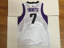 ADIDAS NBA JERSEY SACRAMENTO KINGS #7 JIMMER FREDETTE Sewn Mens   XL / 50 VTG