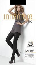 Brown opaque women's tights sheer to waist  winter warm