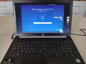 HP 15 inch laptop computer 8GB/1TB HDD - almost new