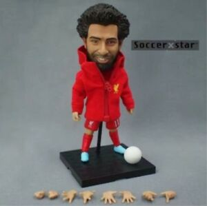 Newest Cool Soccer Star Salah Liverpool Sport Gift Toy 12cm Action Figure