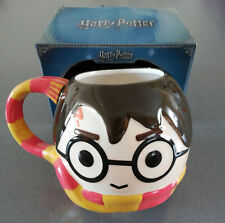 Harry Potter Tasse Kaffeetasse XXL Becher Groß Chibi Gesicht Gryffindor Primark