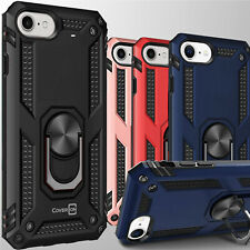 For Apple iPhone SE 2020 / 8 / 7 Case Ring Kickstand Shockproof Hard Phone Cover