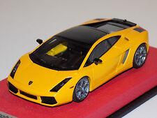 1/43 Looksmart Lamborghini Gallardo SE in Metallic Yellow Leather Base