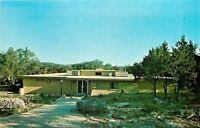Wimberley Texas~7A Ranch Resort~Indian Lodge~1960s Postcard