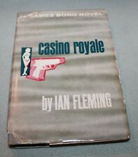 James Bond Novel Casino Royale by Ian Fleming  1953 BCE HB DJ