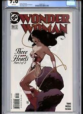 Wonder Woman #154 CGC 9.8 White Pages Adam Hughes Cover