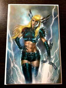 X-MEN #6 Lucio Parrillo Exclusive Virgin Cover Magik New Mutants LTD 600 NM+