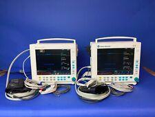 GE Datex Ohmeda S/5 Monitor (SPO2, CO2, PSNI, ECG) con contatti