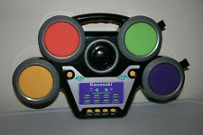 DRUM SET Electronic My First Kawasaki Jazzin Practice Pad Digital Drumset Rhythm