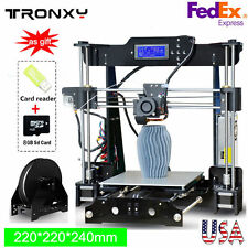 Tronxy P802M 3D Printer -High Precision MK8 Extruder LCD 220*220*240mm - PLA/ABS