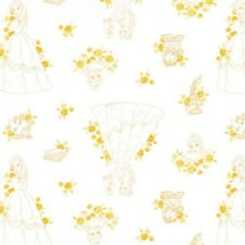 Camelot Disney Princess Forever 85100514 1 Gold Belle Toile Cotton Fab