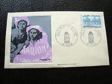 FRANCE - pli 1er jour (thiaude) 25/1/1975 (palais de justice rouen)(cy18) french