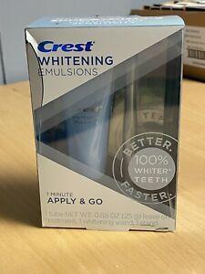 Crest Whitening Emulsions Leave on Whitening Treatment 0.88oz - 6/22+ READ DESC