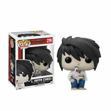 "EXCLUSIVE DEATH NOTE L WITH CAKE 3.75"" POP VINYL FIGURE ANIMATION SHONEN JUMP"