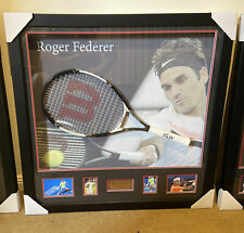 Roger Federer Signed Tennis Racket