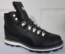 Puma Tatau Fur Boot Black  Men Walking Shoes 11