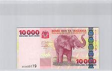 TANZANIE REPUBLIQUE 10000 SHILINGI ELEPHANT NEUF !!!!!!