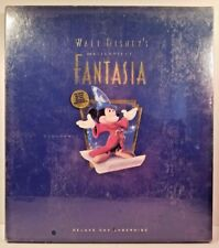 Walt Disney's Masterpiece Fantasia NIB & SEALED Deluxe CAV Laser disc