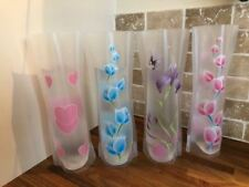 Vases - Set of 4 different designs in reusable foldable plastic- £3.75