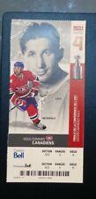 2010 Montreal Canadiens ELMER LACH  Unused Season Ticket Photo GLEN METROPOLIT