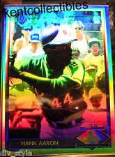 Hank Aaron Heroes of Baseball Hologram Card HH1 Upper Deck 1991