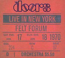Live in New York, Felt Forum, The Doors, Box Set - ACCEPTABLE