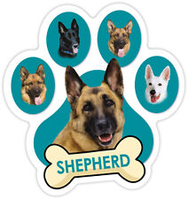 GERMAN SHEPHERD DOG PAW Car Magnet  QUALITY